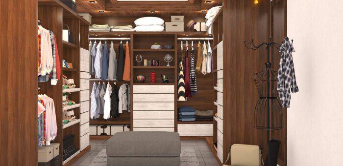 Jak uspořádat šatní skříň?